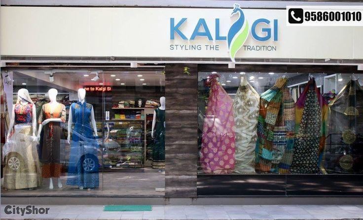 Indulge in their exquisite designs, fabrics & weaves under one roof. Address: Shop No 7-8-9 Ground Floor, Satkar Complex, opp IFCI Bhavan, Body line Cross Roads, C.G Road, Ahmedabad Phone: 9586001010 #Fashion #Clothing #KALGILIFESTYLES #CityShorAhmedabad
