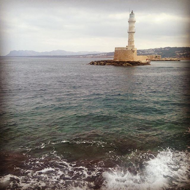 #October #Chania #Crete #Oldharbour #loveagain&again  my pic!! (e)