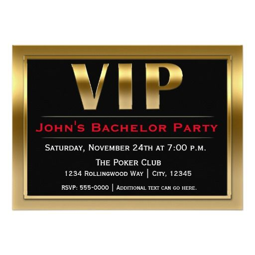 329 best images about Bachelor Party Invitations and Gifts on – Luxury Party Invitations