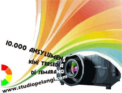 kini terSedia di Semarang; 10.000 ansyLumens LCD Proyektor