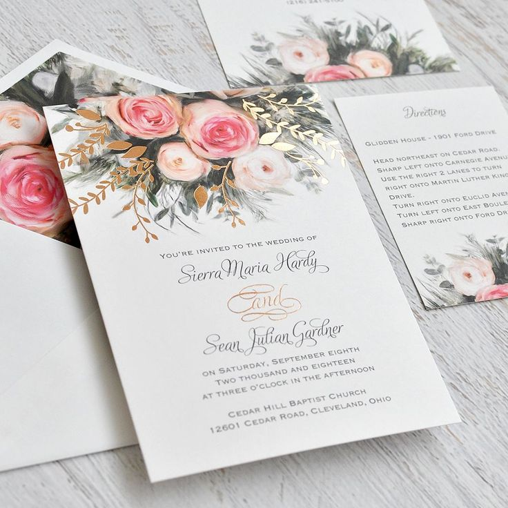 886 best wedding invitation trends images on pinterest bridal ethereal garden foil invitation wedding invitation trendsinvitation designwedding stopboris Image collections