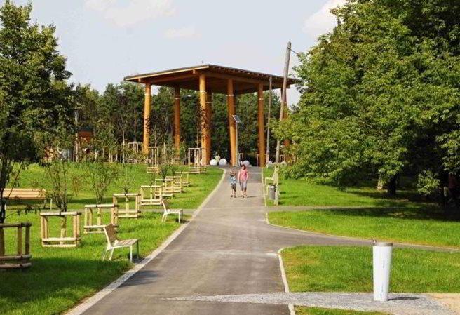 Kudy z nudy - Malešický park v Praze 10 - místo k relaxaci pro všechny