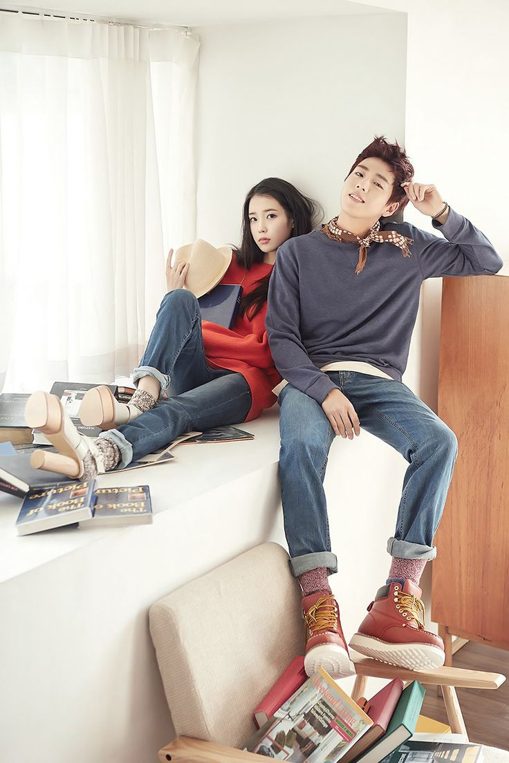 IU and Lee Hyun Woo - Unionbay S/S 2015