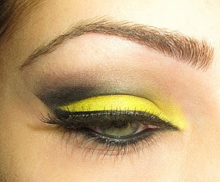 Yellow Eye Shadow