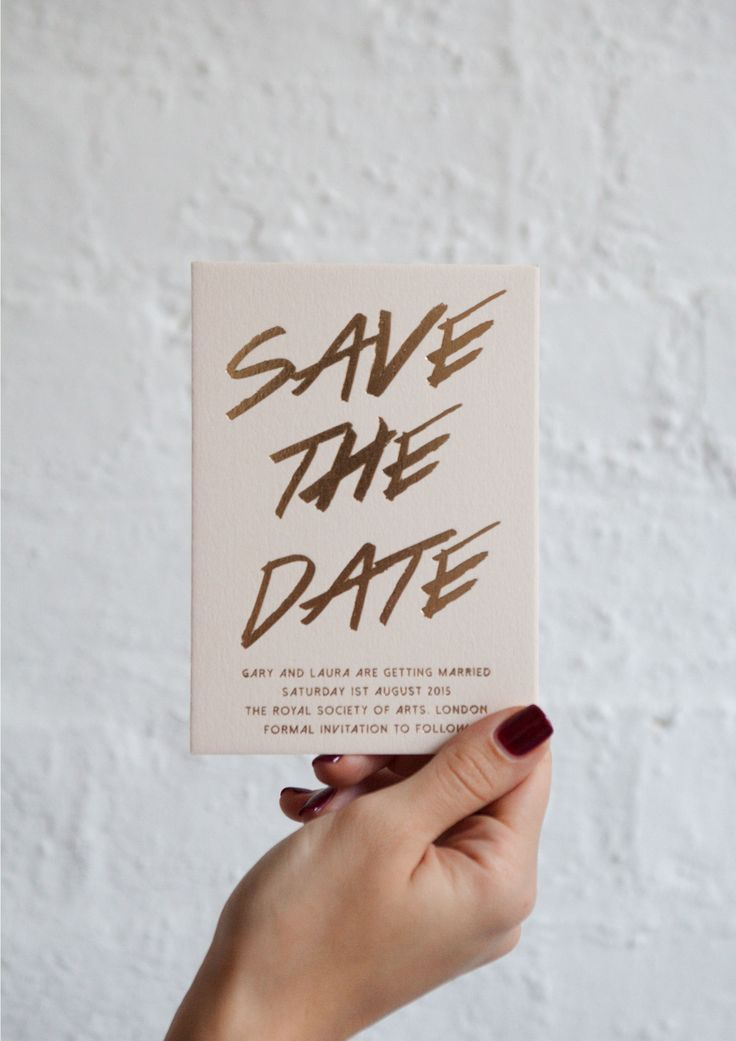 EYI LOVE // save-the-date-blush-gold-foil