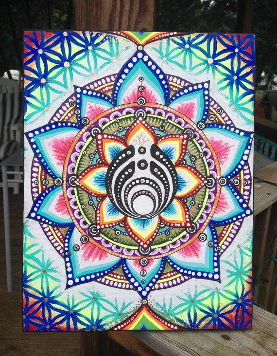 The 25+ best Trippy painting ideas on Pinterest | Rainbow ...