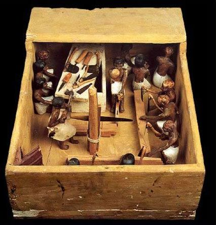 Model of a Carpentry Workshop- Egypt