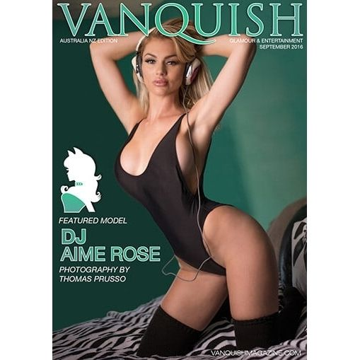 Check out our latest issue.  Now available on www.VanquishMagazine.com  September 2016  DJ Aime Rose  International Glamour and Entertainment Magazine. Featuring Gorgeous Australia New Zealand Covergirl: DJ Aime Rose Models: Cindy Marques Erika Yarborough Nikie Honegger Christy Lacour Gianini Ashley Bissell DJ Amie Rose Gaby Anna Elizabeth Truett Jenna Ivory Photographers: Sylvio Testa Eric Elger Jenya Luzan Jerry Steele Paul Cobo Photography Teo Salinas BSL Images Thomas Prusso   Download…