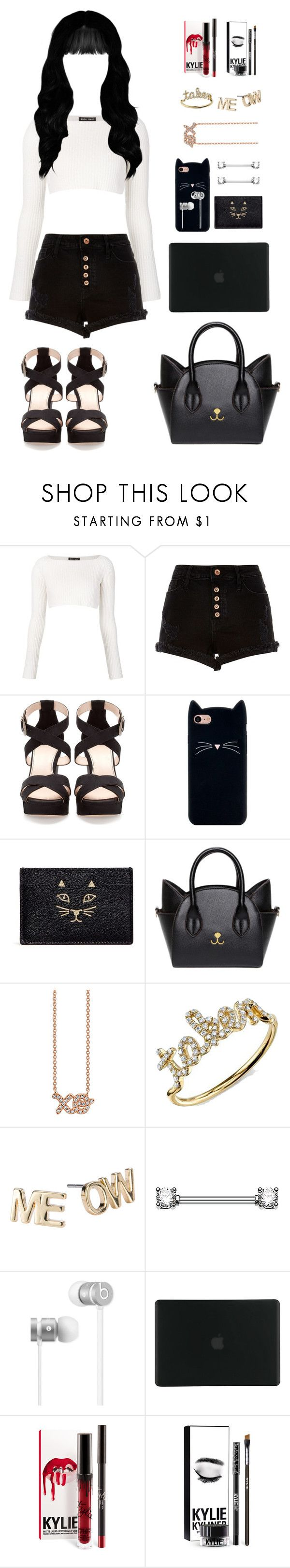 """"""". . ."""" by afetgatter ❤ liked on Polyvore featuring Baja East, River Island, Pull&Bear, Charlotte Olympia, Sydney Evan, Pet Friends, Beats by Dr. Dre and Tucano"""
