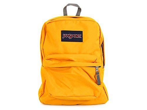Jansport Superbreak Backpacks (Beez Yellow)