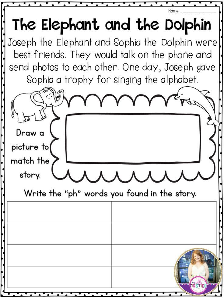 Digraph Passages Students Read The Passage With Ph Words And Illustrate It Then They Write The Ph Words They Digraph Digraphs Activities Phonics Puzzles