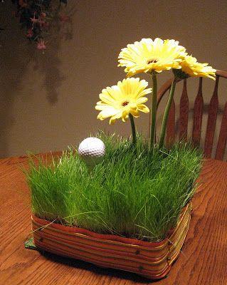 golf centerpieces | golf themed wedding - Project Wedding Forums