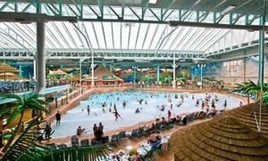 Groupon - Stay with Arcade Credit at Kalahari Resorts in Sandusky, OH; Dates into December in Sandusky, OH. Groupon deal price: $189