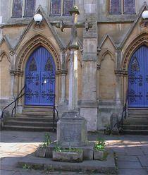 World War 1 Memorial at United Reform Church  N6, Pond Square, Highgate United Reform Church, forecourt