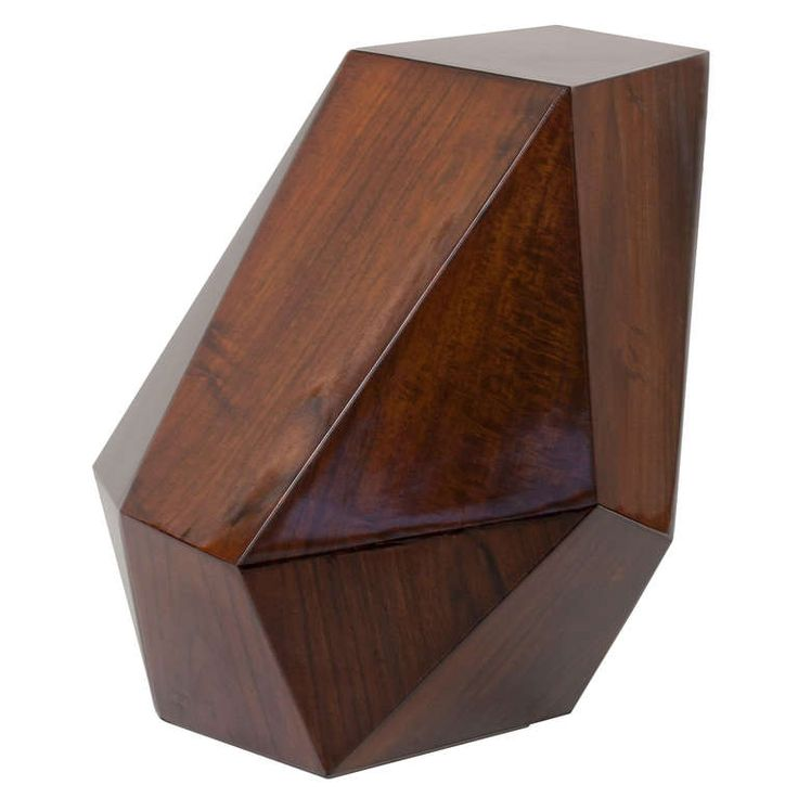 """Emerald"" Contemporary Side Table by Achille Salvagni 