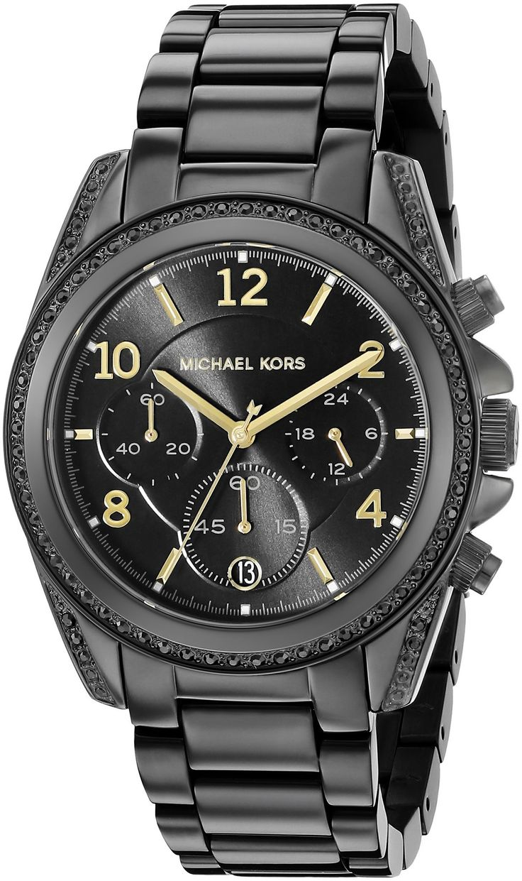 Michael Kors Women's MK6283 Blair Black Stainless Steel Watch