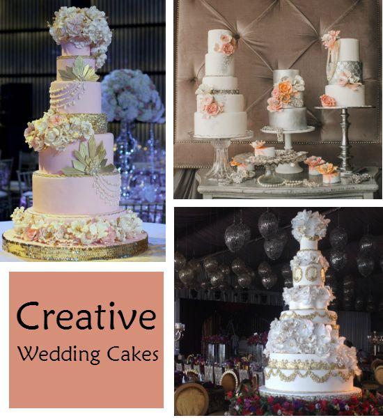 Creative Wedding Cakes http://weddingideasbyyou.com/2014/05/05/creative-wedding-cakes/ Follow Us on Pinterest --> http://www.pinterest.com/weddingideasbyu/