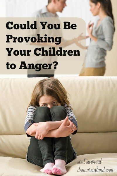 """""""Could You Be Provoking Your Children to Anger?"""" + LINKUP - One of the most concise instructions for parents appears in the book of Ephesians. It says, """"… do not provoke your children to wrath, but bring them up in the training and admonition of the Lord."""" Some of the ways we provoke our children to anger seem obvious, but others may be less so. Could you be provoking your children to anger in ways you haven't realized?"""