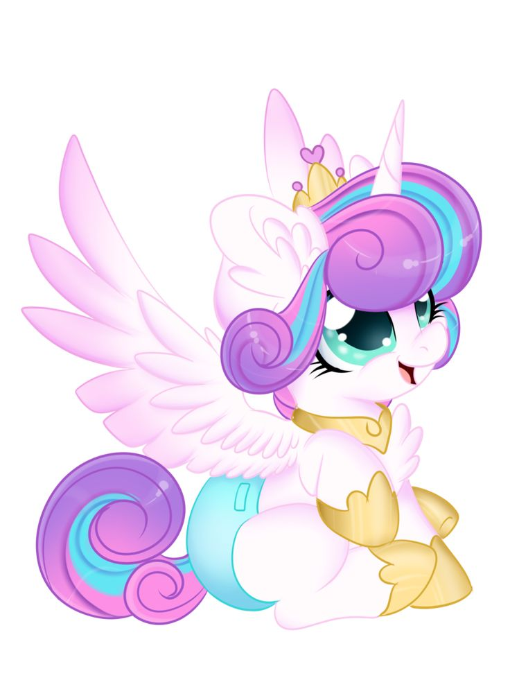 Mlp Princesses Flurry Heart (Quick draw) by Silent-Shadow-Wolf on DeviantArt