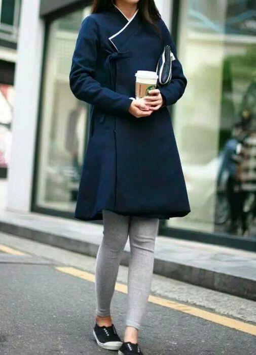 Fusion한복, 생활한복 레깅스+저고리