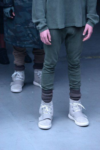 The 750 Boost sneaker from Kanye West's Adidas Yeezy season 1 collection.