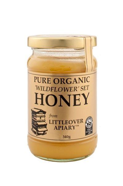 Organic Set Wildflower Honey 1x340g