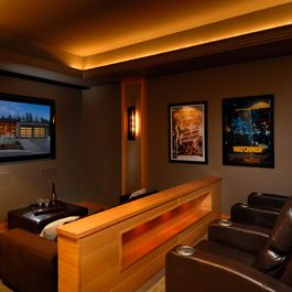 Small Home Theater Design Design Ideas, Pictures, Remodel, And Decor Part 32