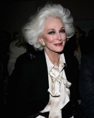Agelessly elegant at 80!