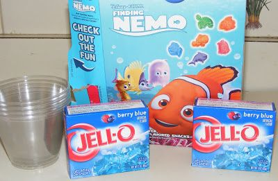 Ten kids and a Dog: A Jell-o Ocean---An Unplugged Project