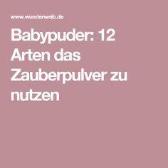 1000 ideas about babypuder on pinterest mittel gegen pickel selbstbr uner gesicht and pickel. Black Bedroom Furniture Sets. Home Design Ideas