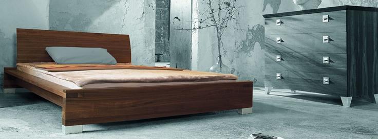 Wooden design bed