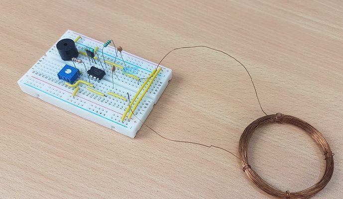Schema Elettrico Per Metal Detector : Metal detector circuit diagram and working diy projects metal
