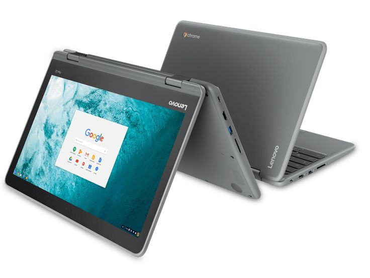 A 2-in-1 Lenovo Chromebook with a durable design