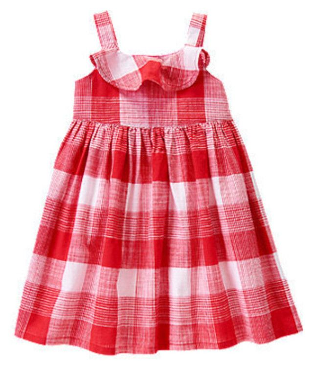 Ruffle Gingham Dress by starbabydesigns  Available at http://stores.ebay.com/Star-Baby-Designs-Home-Store