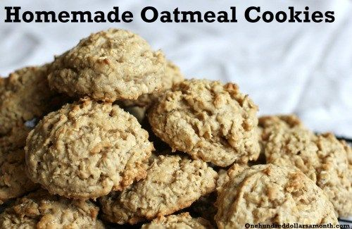 compost cookies. quaker oatmeal cookie recipe