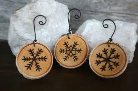 wood burning christmas ornaments - Google Search