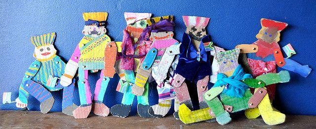 """""""Rainbow Nation"""" puppet craft"""