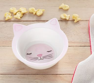 Shaped Kitty Bowl #pbkids