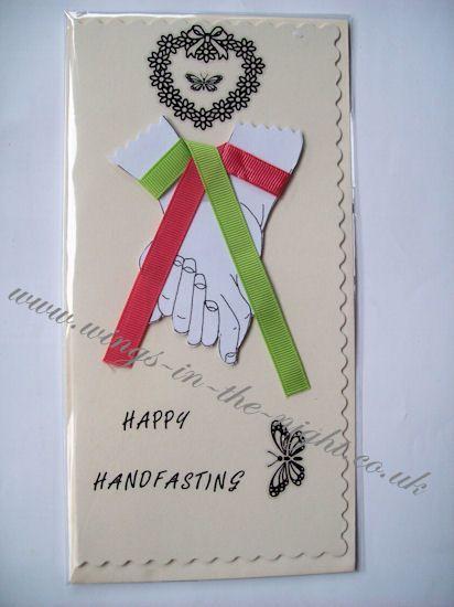 pagan-wedding-handfasting-greeting-card-3408-p.jpg (412×550)