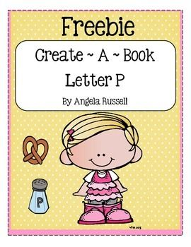 This is a cute book to add to your Letter P Unit.  Use it during group time and make a list together of all the letter P words you find. Copy and cut out the pages on the bold lines. Stack and staple the pages together to create a book. Letter P words used are: pen, pencil, penny, pizza, pop, pie, and pepper.