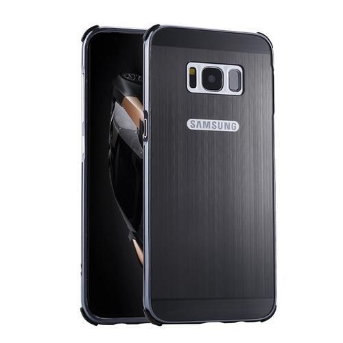 For Samsung Galaxy S8 Plus Case Brushed PC Back Cover Metal Frame Hard Housing For Samsung S8 Phone Cases     Tag a friend who would love this!     FREE Shipping Worldwide     {Get it here ---> http://swixelectronics.com/product/for-samsung-galaxy-s8-plus-case-brushed-pc-back-cover-metal-frame-hard-housing-for-samsung-s8-phone-cases/ | Buy one here---> WWW.swixelectronics.com