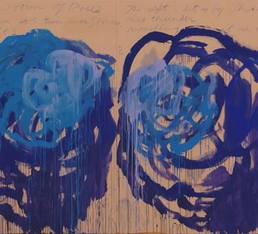 Cy Twombly - Artist XXè - Abstract Expressionism  - Untitled ( roses ) Gaeta 2008