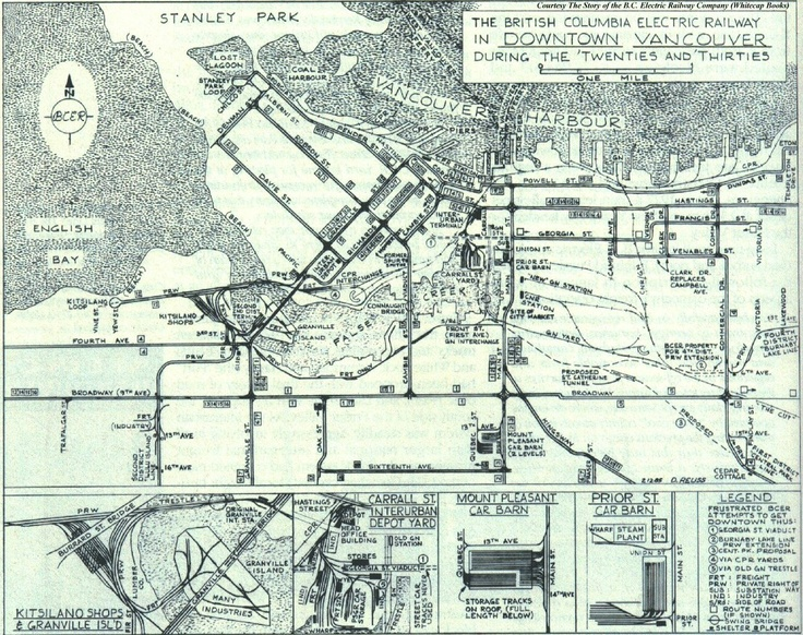 old vancouver map