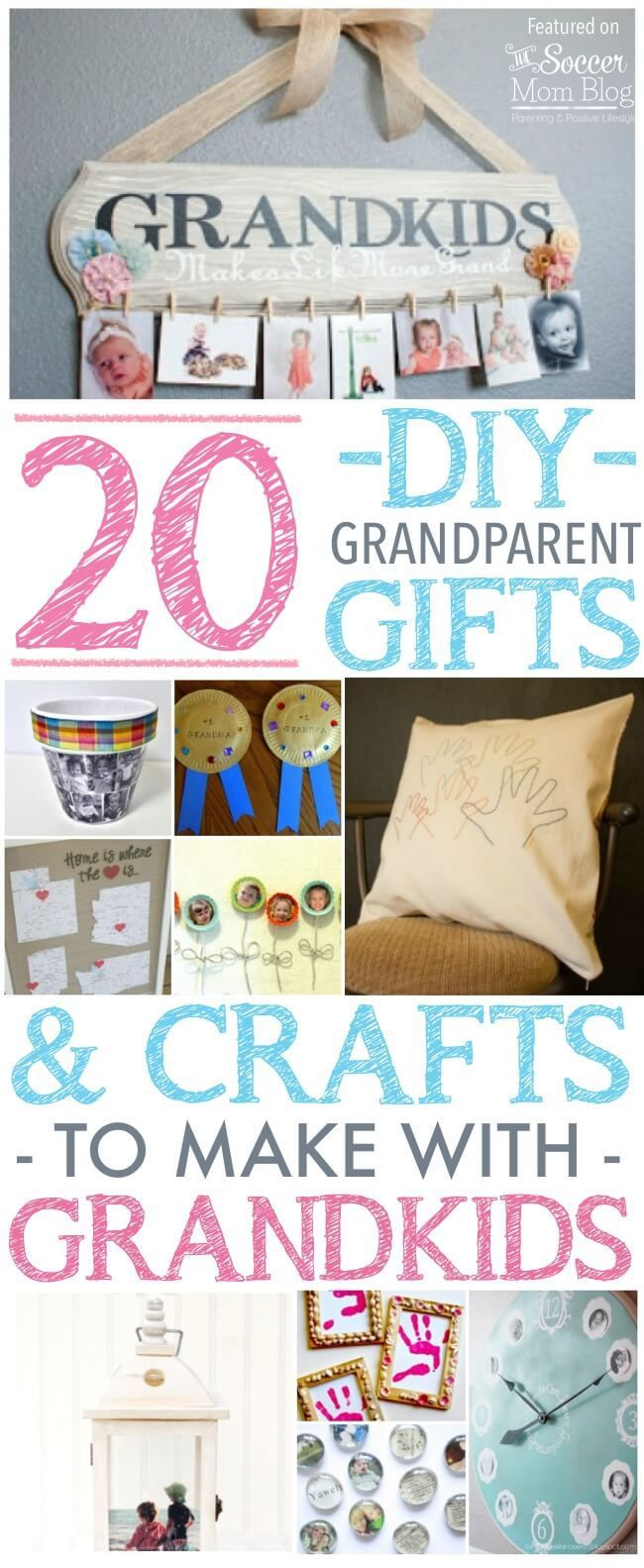 20 Kid-Made Grandparent Gifts They'll Treasure Forever