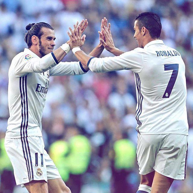 Real Madrid 1-1 Éibar ⚽ 17' @garethbale11 #RMLiga #HalaMadrid