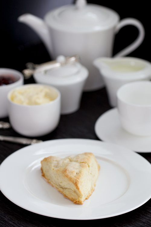Not only is this post the only one I've seen for how to make clotted cream, but a fabulous recipe for scones, and how to brew a proper pot of tea. Afternoon tea, here I come!!