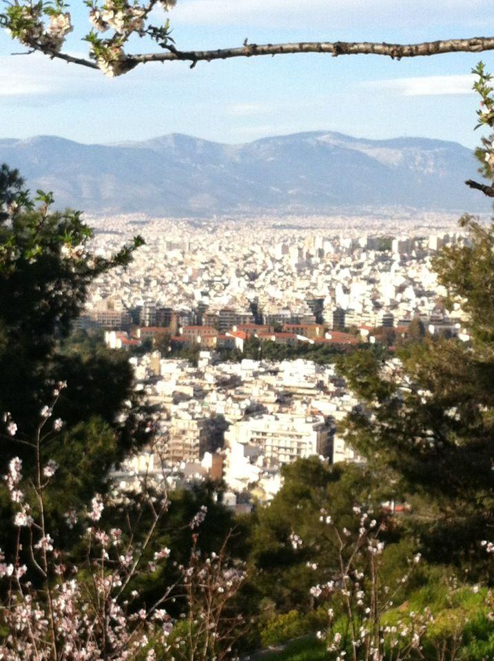 Λόφος Λυκαβηττού (Lycabettus Hill) in Αθήνα, Αττική