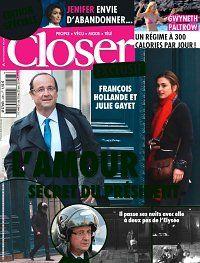 Magazine People Closer n° 448 #Hollande #Gayet