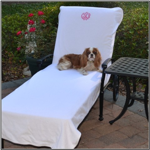 Best lounge chair cover for the beach and pool... mark your spot!