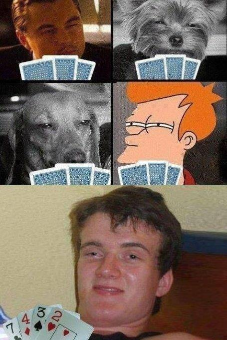 Consecuencias de jugar al Poker... borracho